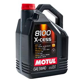 Моторное масло MOTUL 8100X-cess 5W-40