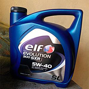Оригинальное моторное масло ELF EvolutionSXR