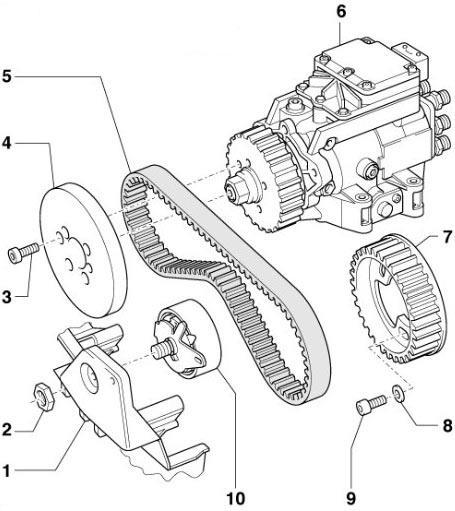 A6 Belt Diagram - Wiring Diagrams List
