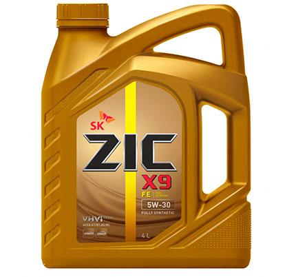 Моторное масло ZIC X9 FE 5W-30