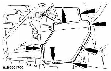 крышка кожуха КПП Форд Фокус