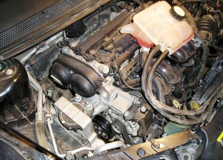 Бачок с охлаждающей жидкостью Форд Фокус 2