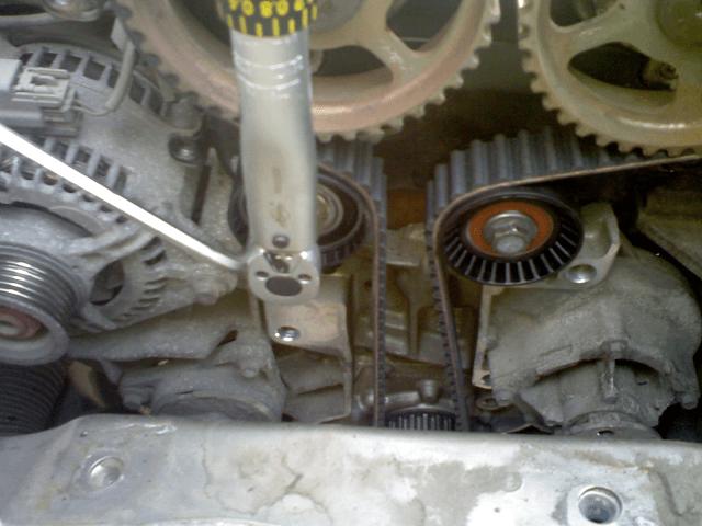 Установка ремня ГРМ Форд Фокус Zeteс 1,8 л.