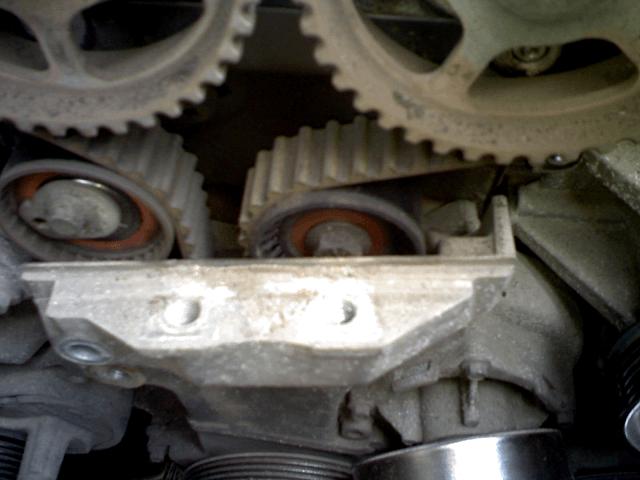 Замена ремня ГРМ на двигателе Zeteс 1,8 л. Форд Фокус