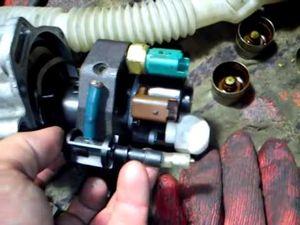 Причины кода ошибки P0089 - регулятор давления топлива неисправен