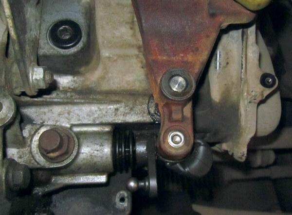 тяга переключения передач на Ford Focus 2
