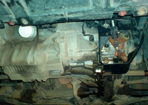 селектор коробки передач на Ford Focus 2