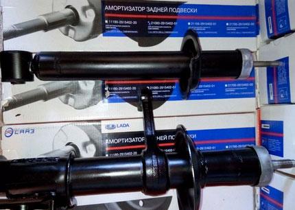 Амортизаторы на ВАЗ 2108 и 2109