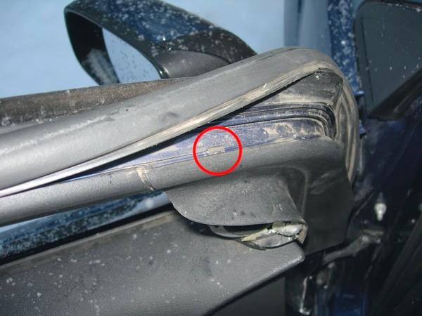 Снятие уплотнителя двери Ford Focus 2