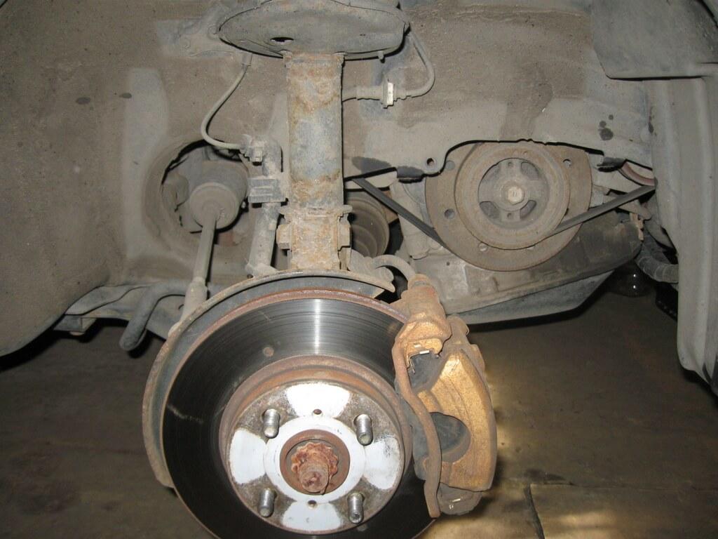 Замена ГРМ на двигателе 1CD-FTV Toyota