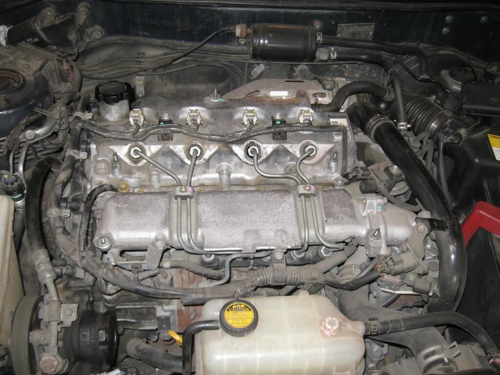Двигатель 1CD-FTV Toyota Corolla e110