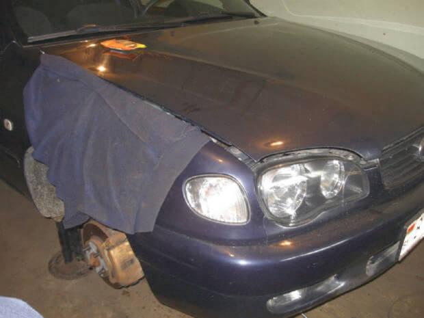 Замена ремня ГРМ Toyota Corolla e11
