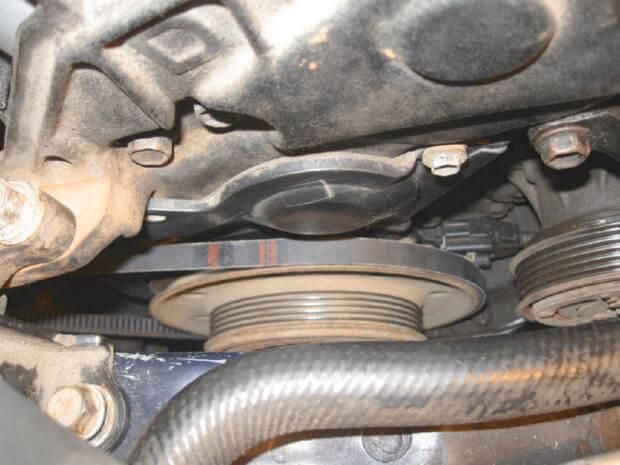 приводные ремешки Toyota Corolla e110
