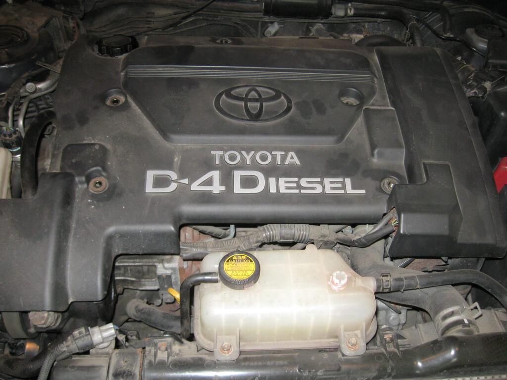 toyota двигатель 1cd ftv система подогрева антифриза