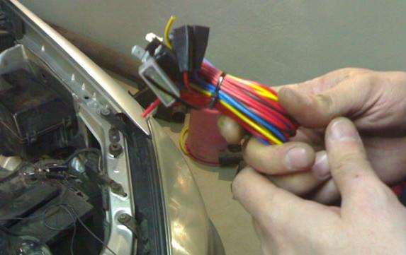 Проводка подогрева топливного фильтра