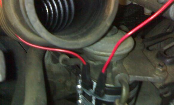 Подключение подогрева топливного фильтра на Toyota Avensis Verso