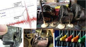 Renault Logan снять замена ремонт Снятие датчика детонации Рено Логан