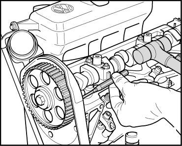 VW Transporter 2 5 TDI (ACV) T-belt & High Pressure Fuel Pump Belt