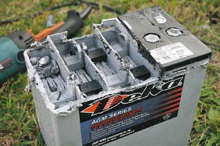 восстановление аккумуляторных батарей своими руками