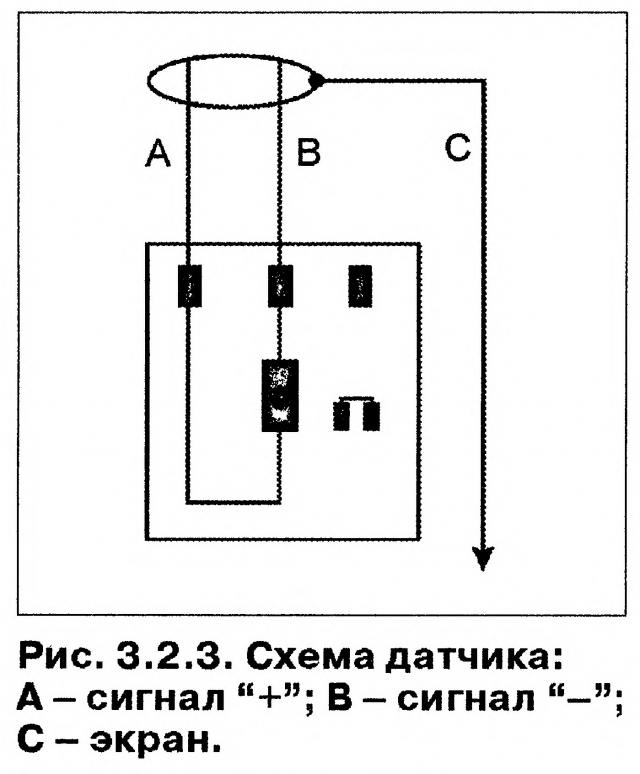 Схема датчика Датчик положения