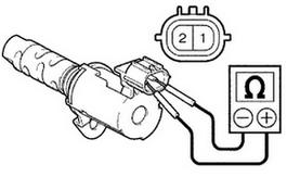 проверка клапана ввти мультиметром на сопротивление