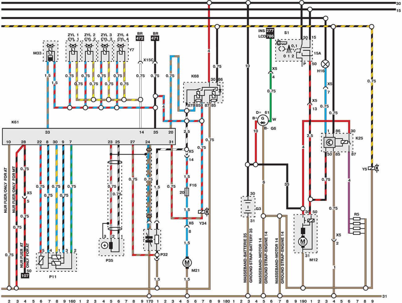 Схема зажигания опель вектра фото 103