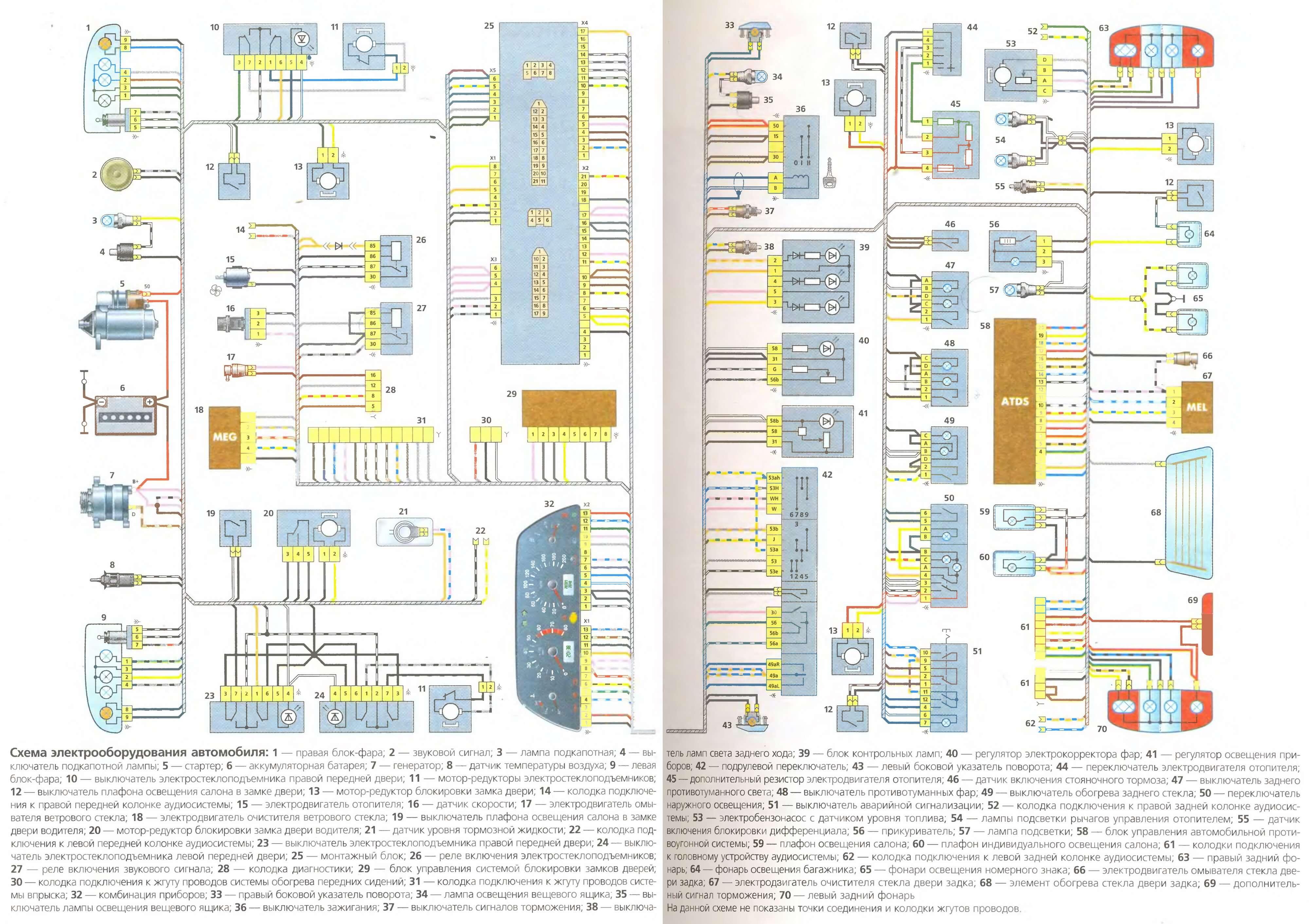 Схема спидометр 16