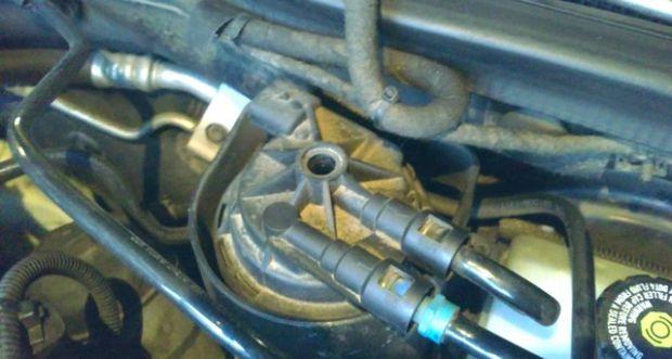Как заменить топливный фильтр на дизельной Астре Н