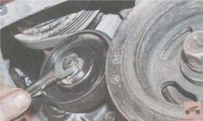 ремень привода  вспомогательных агрегатов на Киа Рио