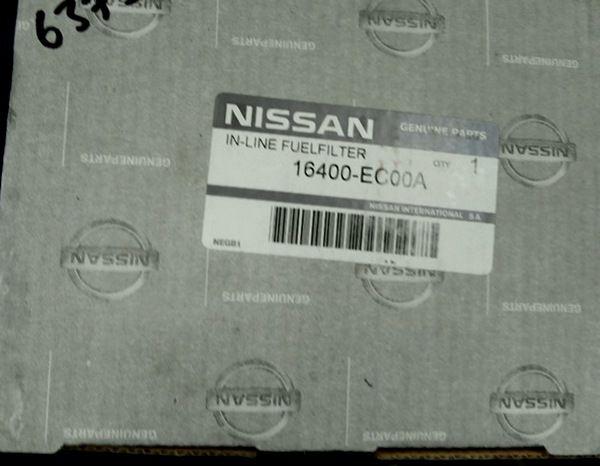 Оригинальный топливный фильтр ниссан