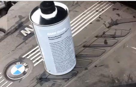 Балончик с тормозной жидкостью БМВ ДОТ 4