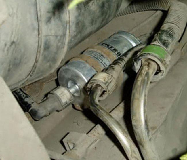 Топливный фильтр где находится форд фокус 2