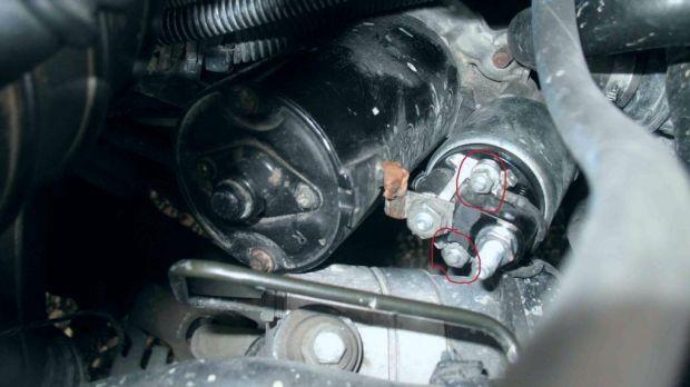 Как снять стартер БМВ Х5
