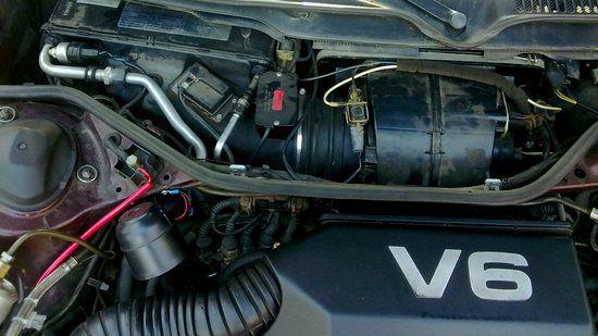 снятие моторчика печки Ауди а6