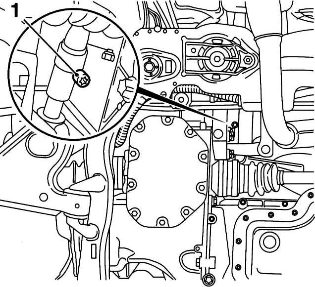 Регулировка МКПП на Opel Astra F