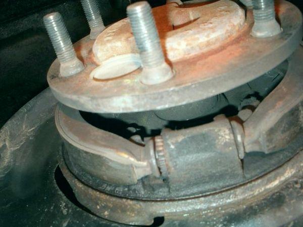 тормозные колодки стояночного тормоза