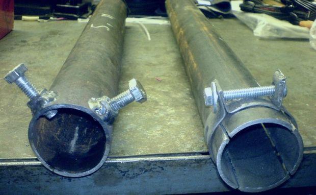Съемник для демонтажа рулевой тяги Пежо