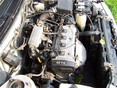 Замена двигателя 4E-FE Королла на другой