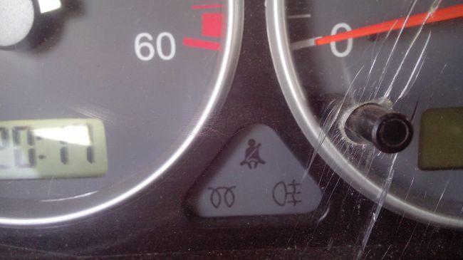 индикатор слева внизу