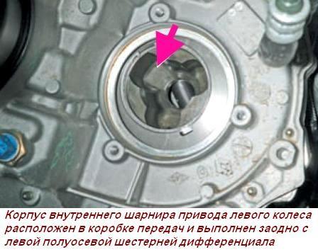 Авто Азбука - Привод правый (длинный) 8200499306 на ВАЗ Ларгус 16 клапанов