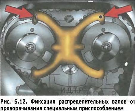 28) Если ремень привода ГРМ