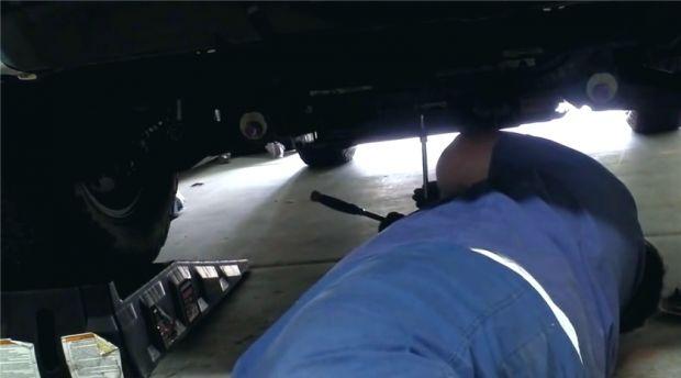 Замена масла Toyota 4Runner