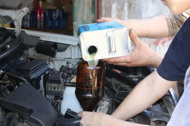 Nissan замена масла в вариаторе