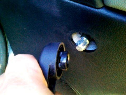 снятие ручки стеклоподъемника двери круз