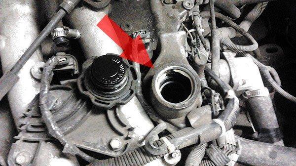 Замена масла двигателя Приора