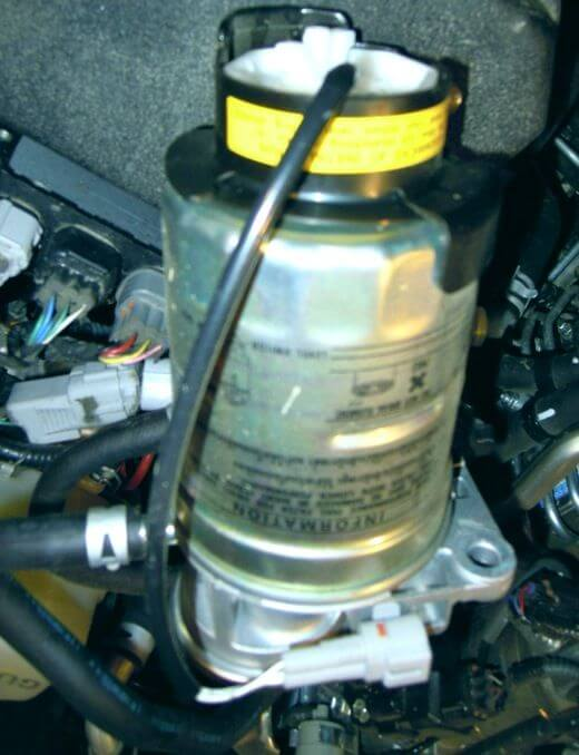 защита датчика воды в топливе