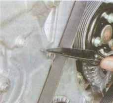 Снятие ремня генератора Форд Фокус