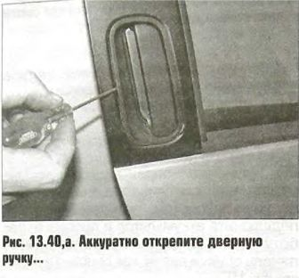 Замена дверной ручки Пежо 206