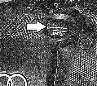 крышка маслоналивной горловины двигателя Ауди А6