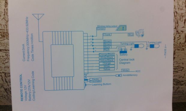 7e5aeda8a83e3ecc9d6dafb4d7a75789 - Схема блока управления центрального замка
